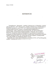 Referencje (8)