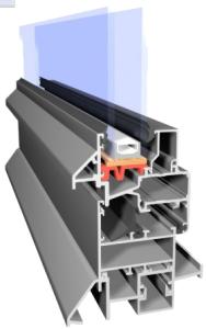 aluminium system zimny